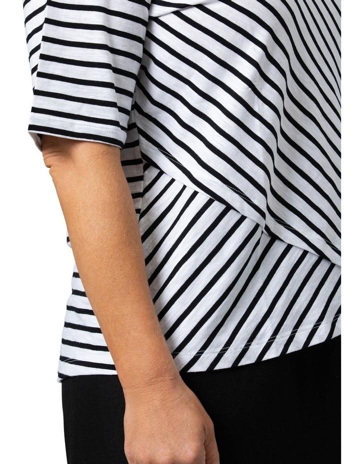 Wrap Stripe Tee image 4