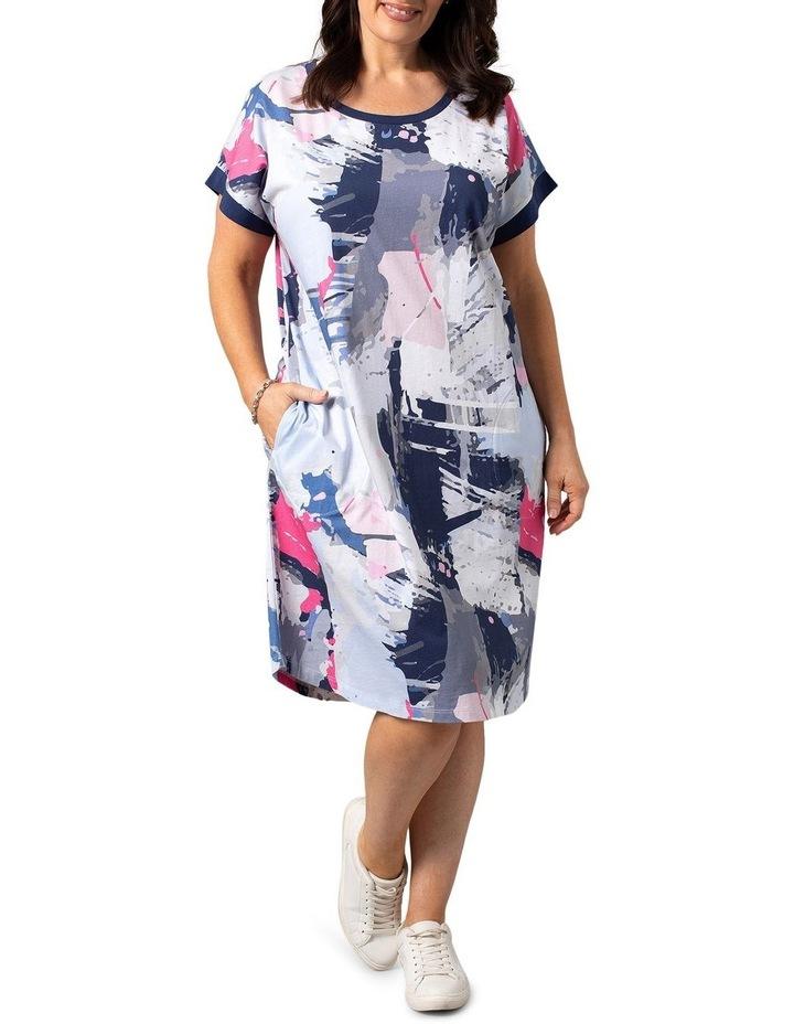 Escape Print Dress image 1