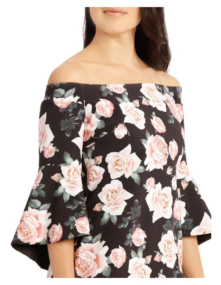 Only Roses Fluted Sleeve Shift Dress Print image 4