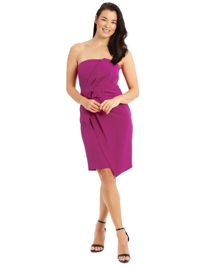 Fuchsia Core Fitted Sassy Dress image 1