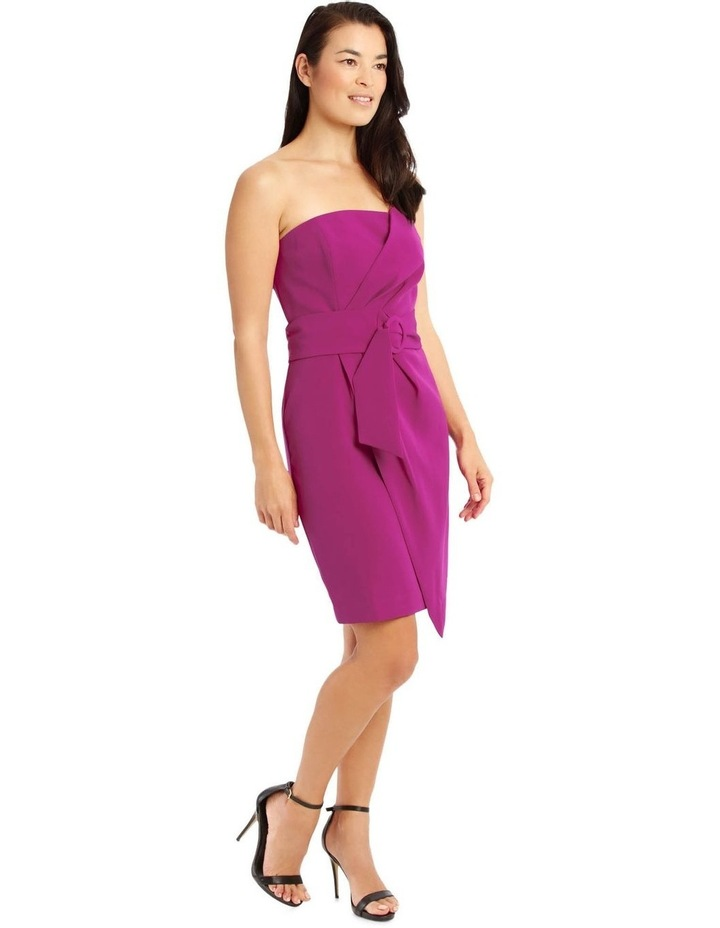 Fuchsia Core Fitted Sassy Dress image 2
