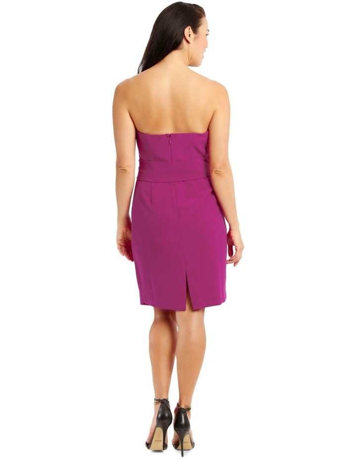 Fuchsia Core Fitted Sassy Dress image 3