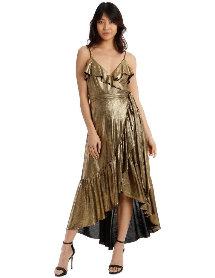 Liquid Metalic Maxi Dress image 1
