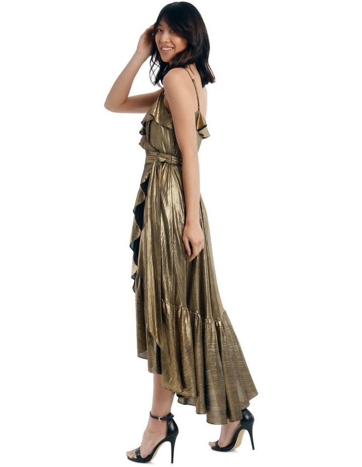 Liquid Metalic Maxi Dress image 2