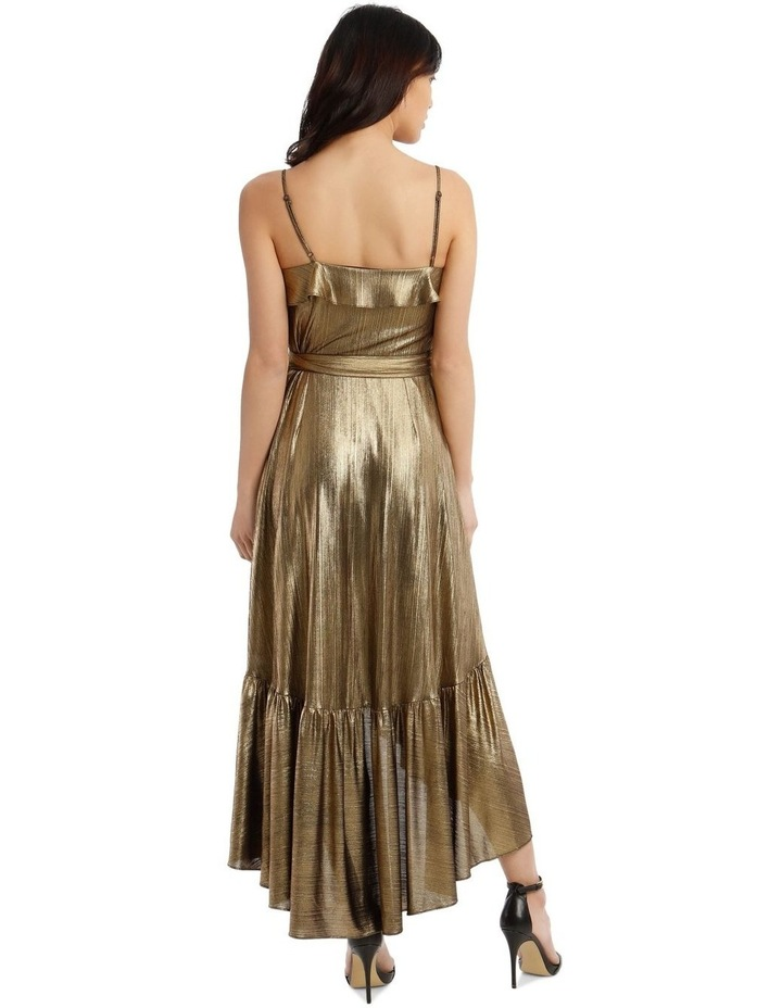 Liquid Metalic Maxi Dress image 3