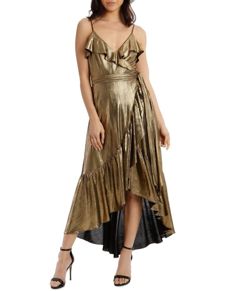 Liquid Metalic Maxi Dress image 5