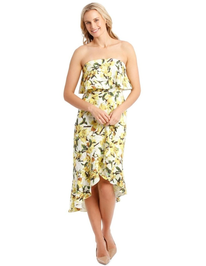 Strapless Dress With Print image 1