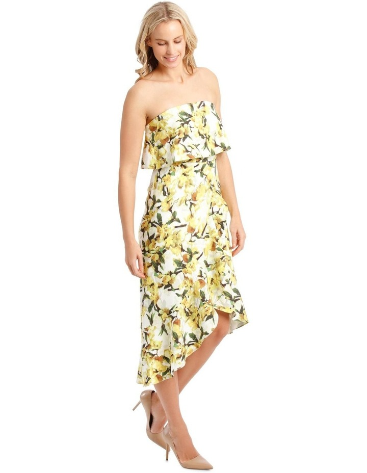 Strapless Dress With Print image 2