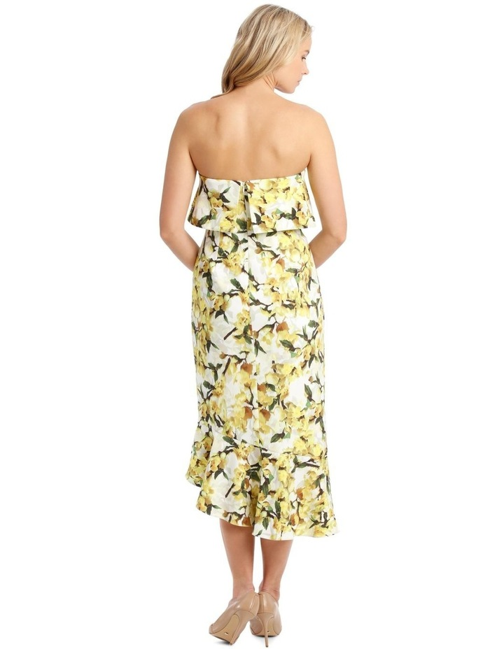 Strapless Dress With Print image 3