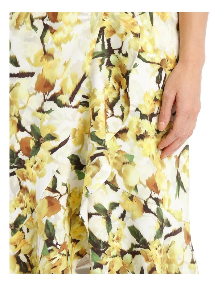 Strapless Dress With Print image 4
