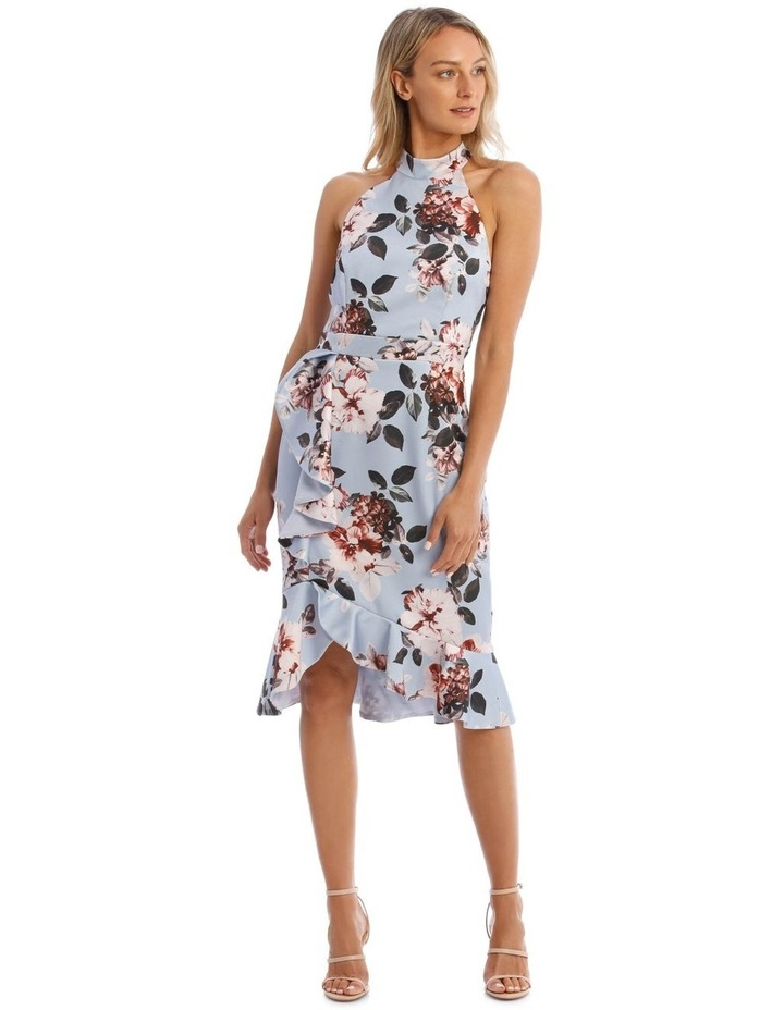 Fitted Flutter Dress image 1