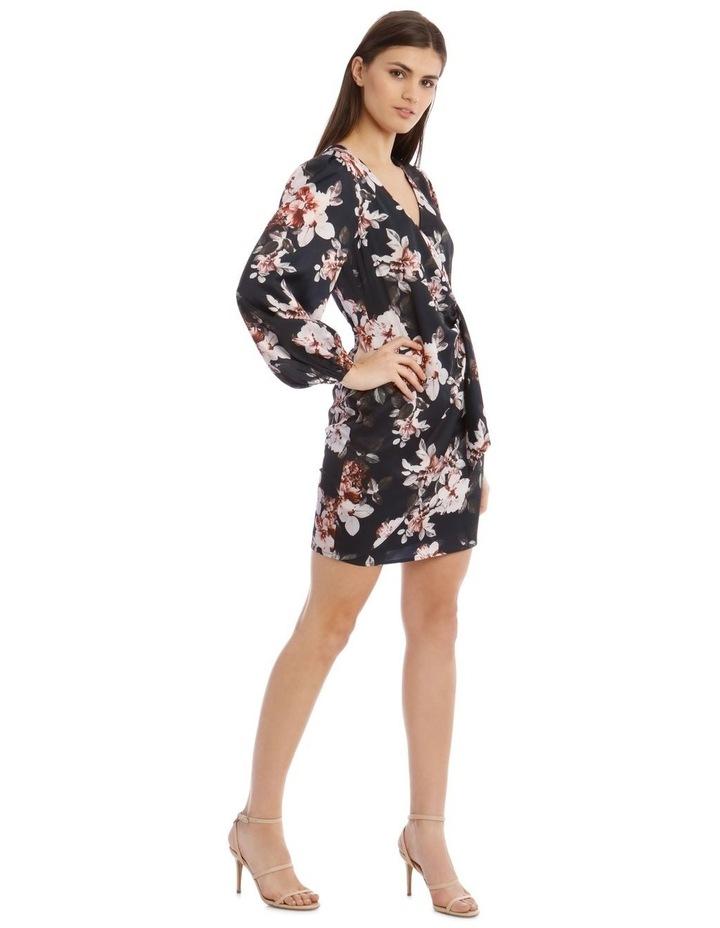 Satin Wrap Dress image 2