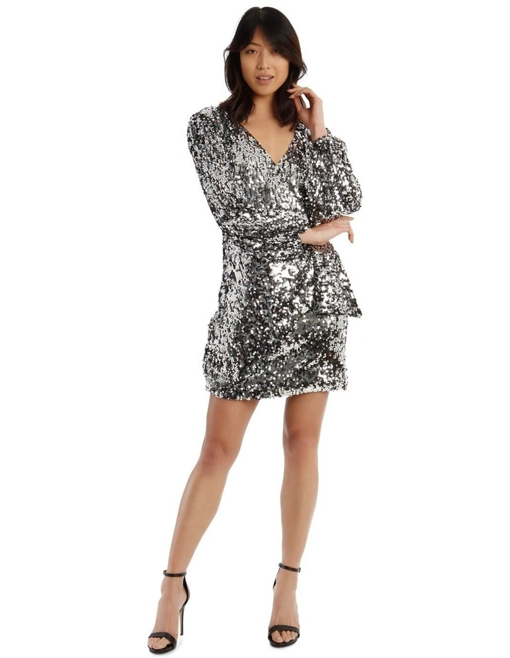 Wait And See Sequin Dress image 1