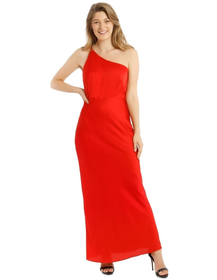 One Shoulder Bias Cut Dress image 1