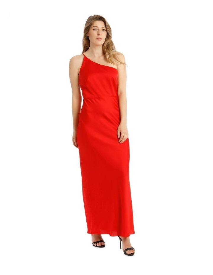 One Shoulder Bias Cut Dress image 2