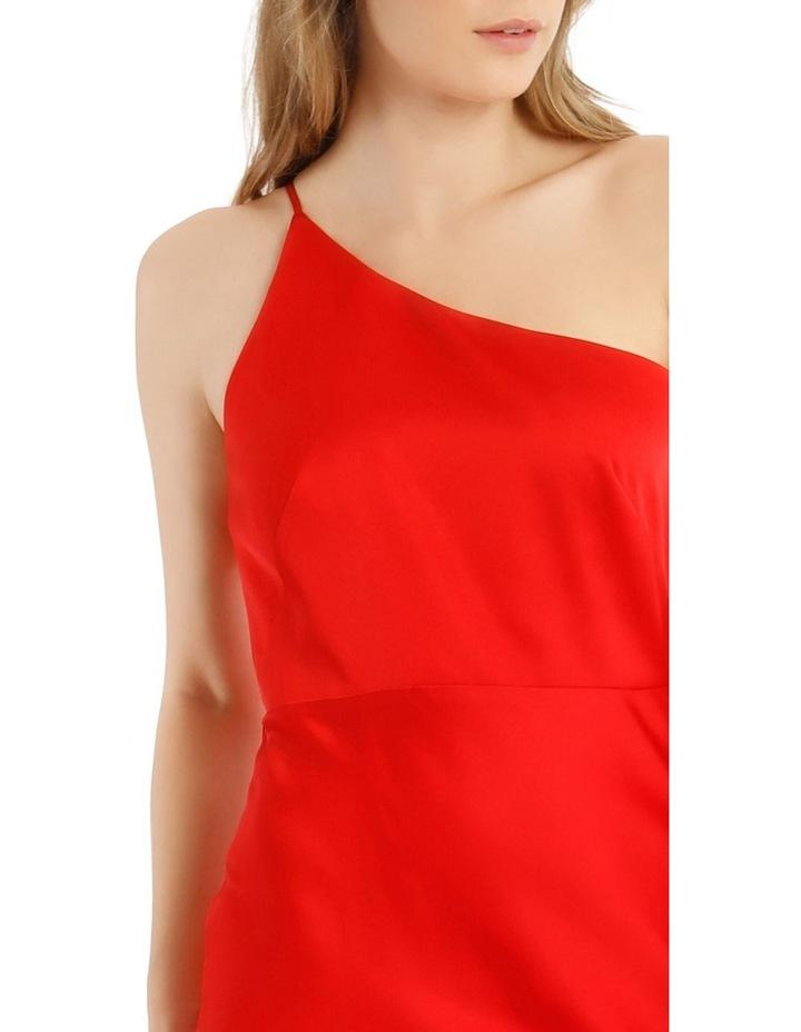 One Shoulder Bias Cut Dress image 4