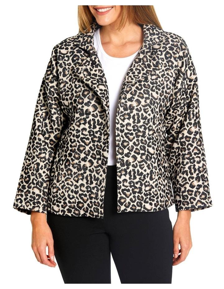 Animal Jaquard Jacket image 1