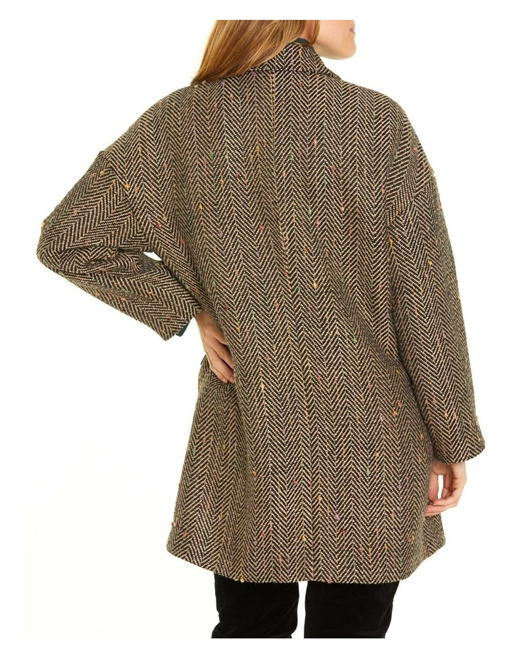 Herringbone Nep Coat image 3