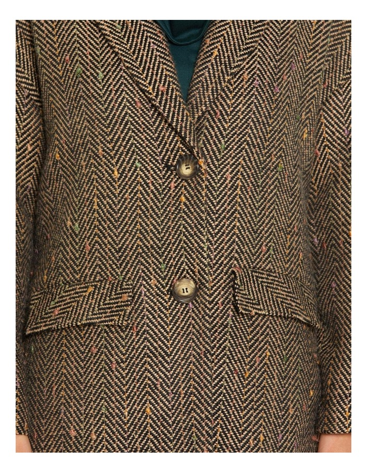 Herringbone Nep Coat image 4