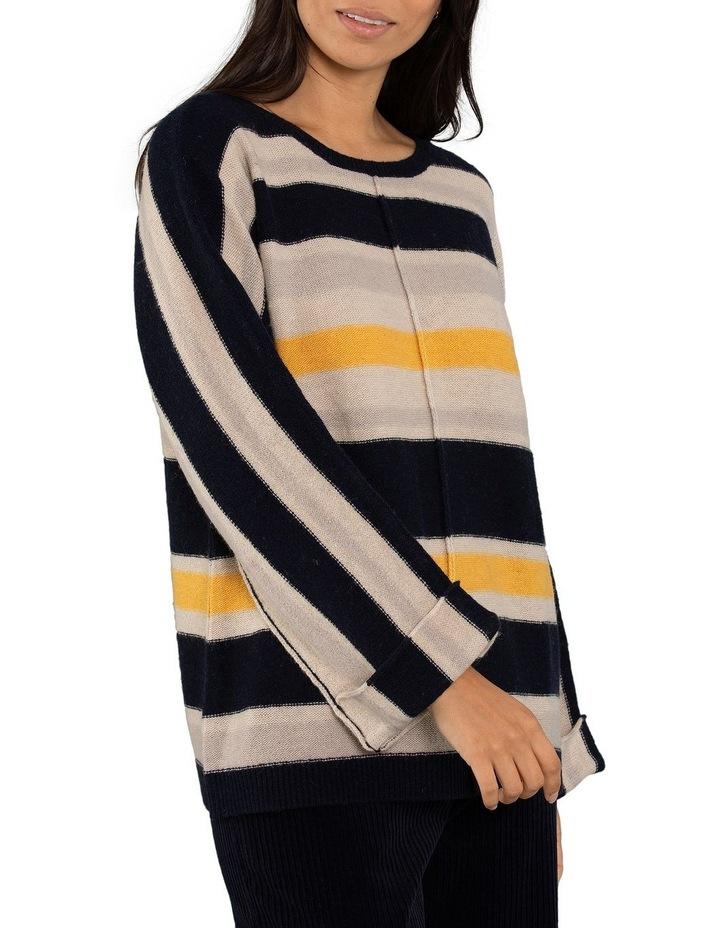 Textured Stripe Jumper image 1