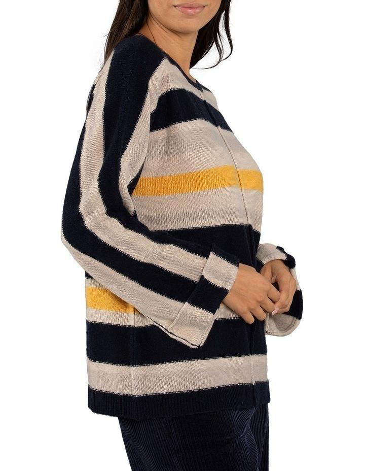 Textured Stripe Jumper image 2