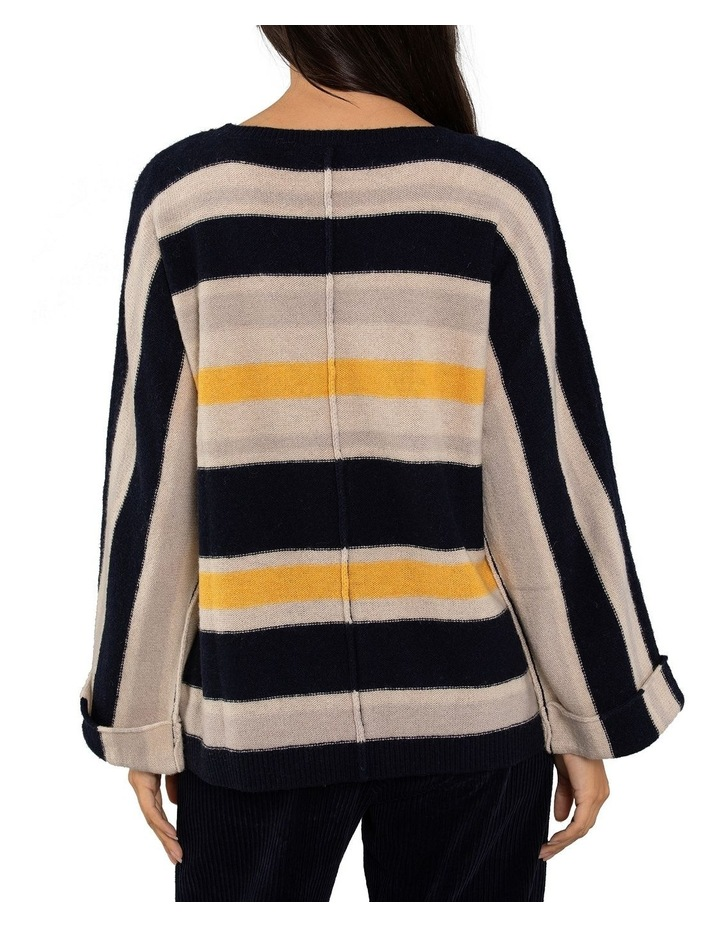 Textured Stripe Jumper image 3