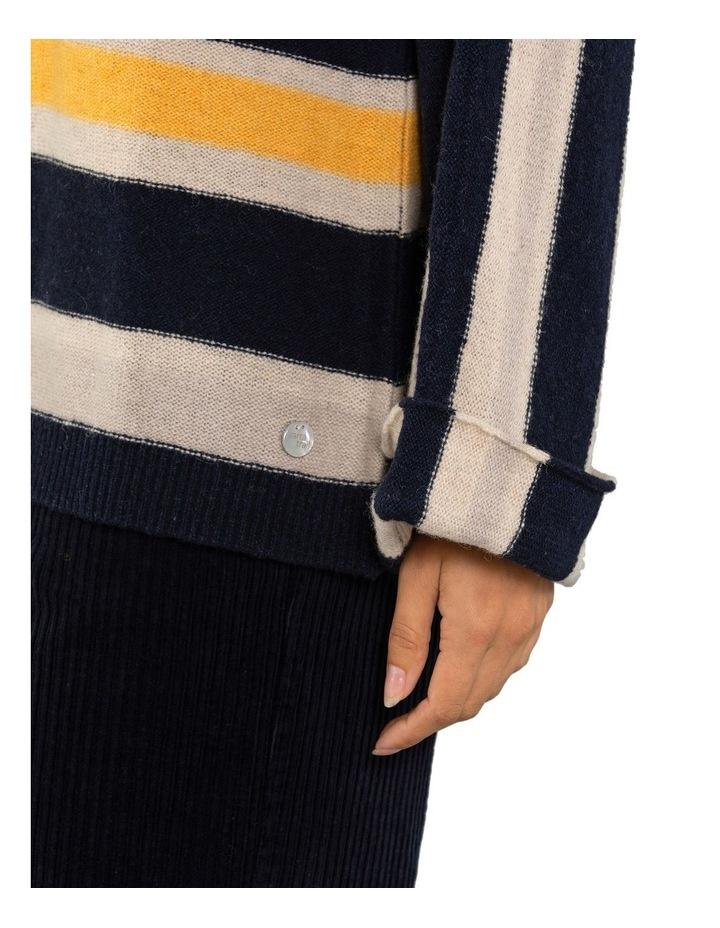 Textured Stripe Jumper image 4
