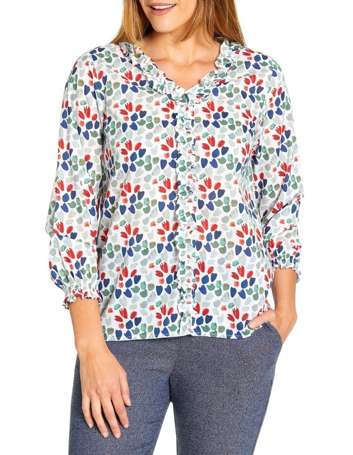 Cluster Print Blouse image 1