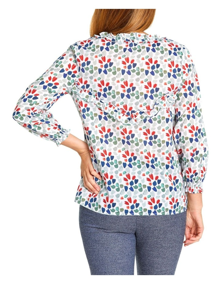Cluster Print Blouse image 3
