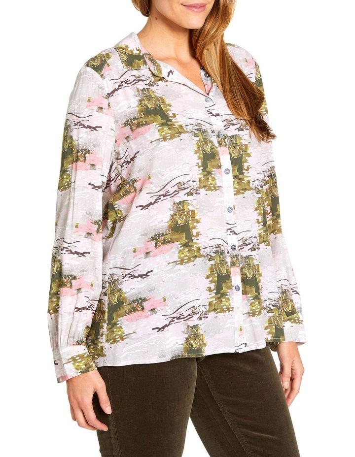 Oak Cully Print Shirt image 2
