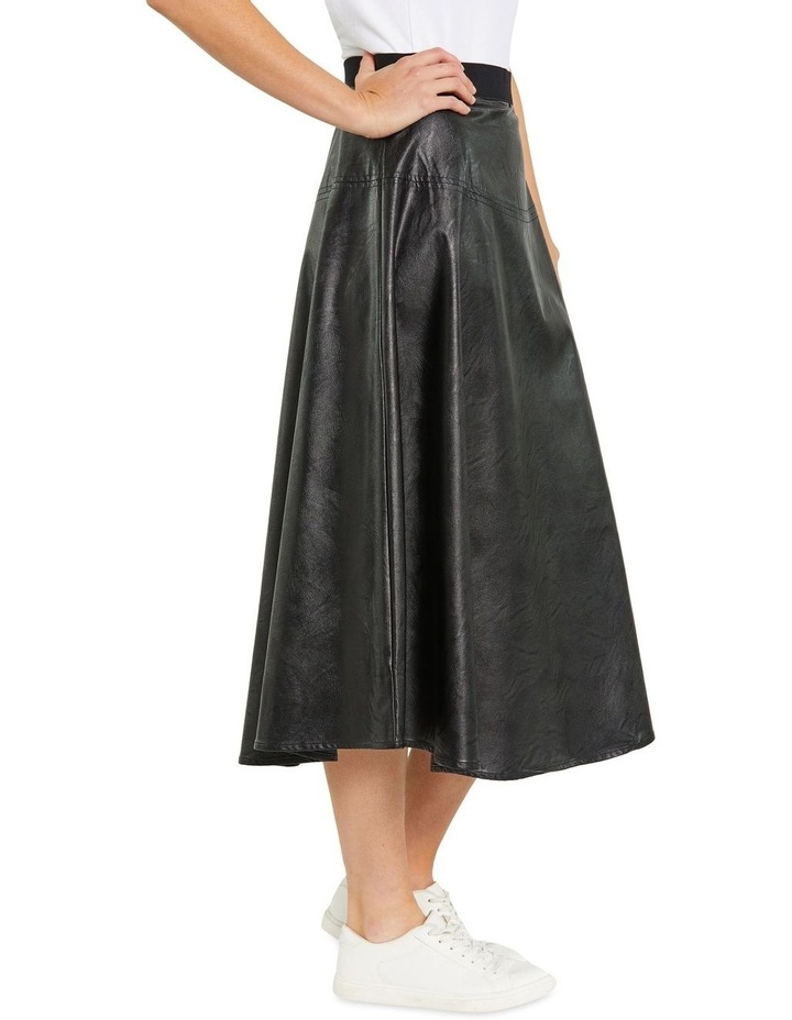 Faux Leather Skirt image 2