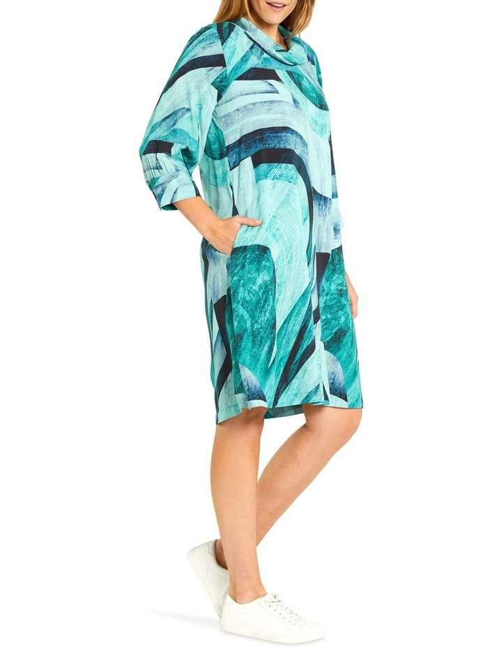 Tidal Print Dress image 2
