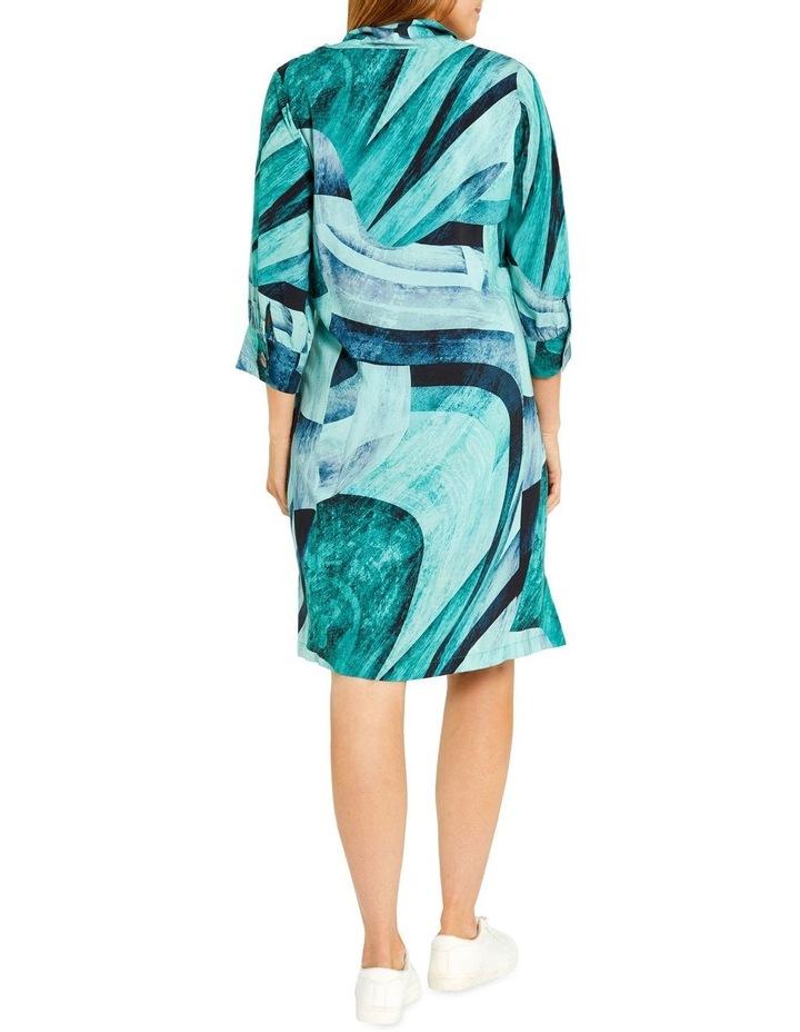 Tidal Print Dress image 3