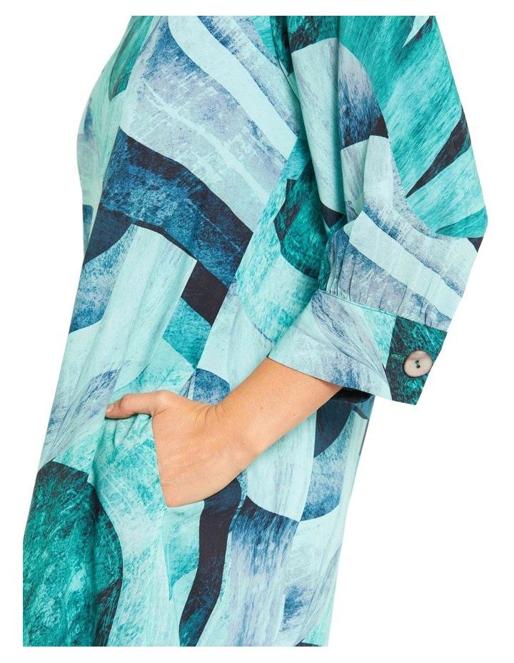 Tidal Print Dress image 4