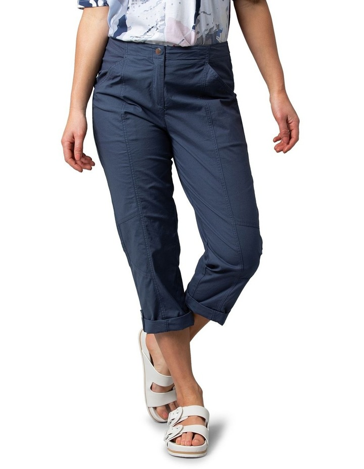 Utility Washer Cotton Pant Navy image 1