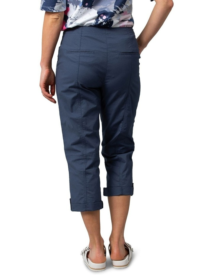 Utility Washer Cotton Pant Navy image 2