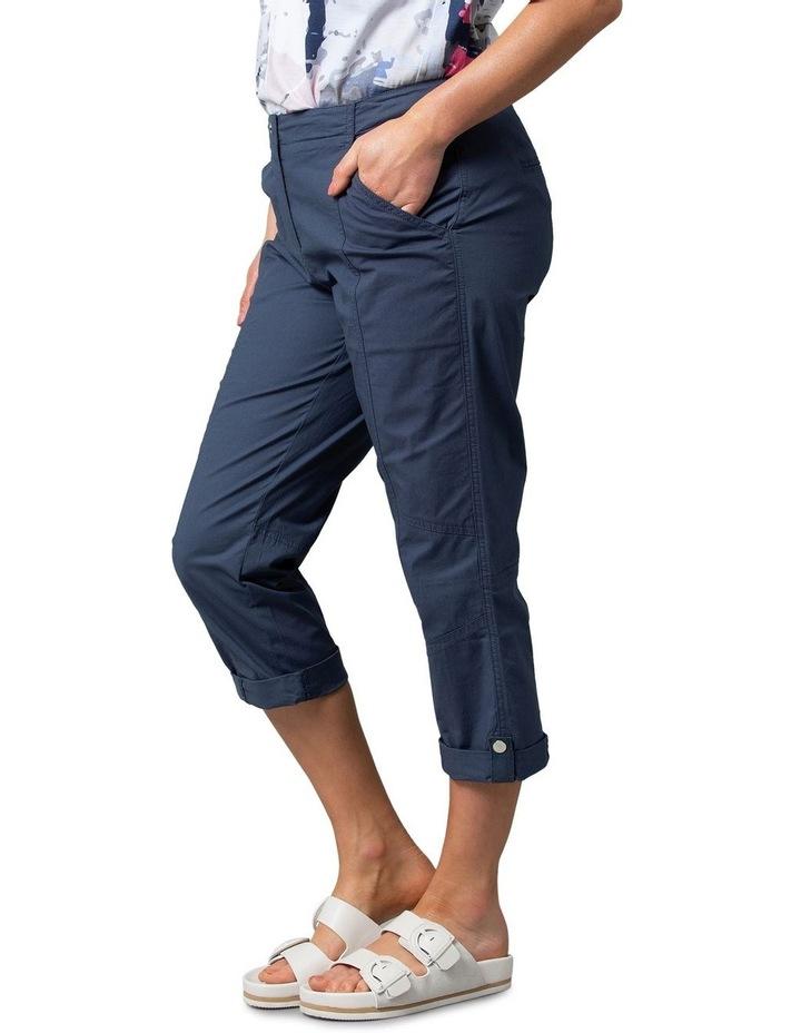 Utility Washer Cotton Pant Navy image 3