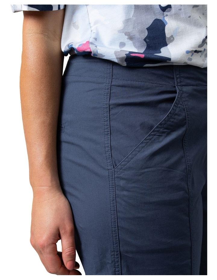 Utility Washer Cotton Pant Navy image 5