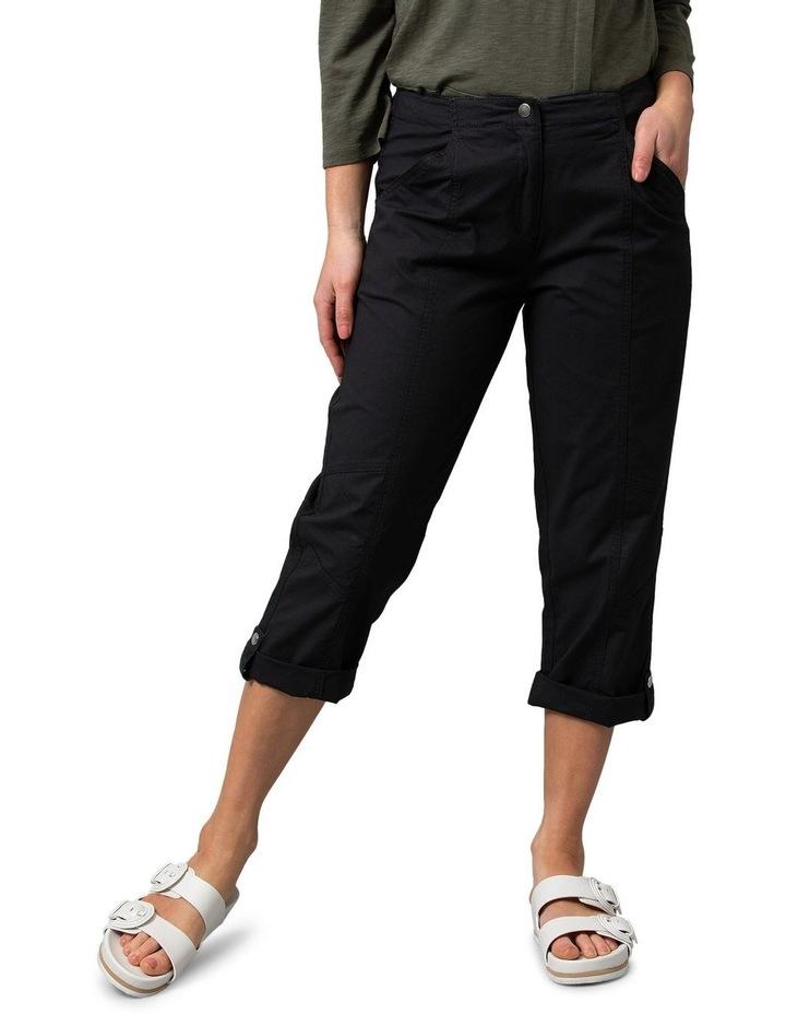 Utility Washer Cotton Pant Black image 1