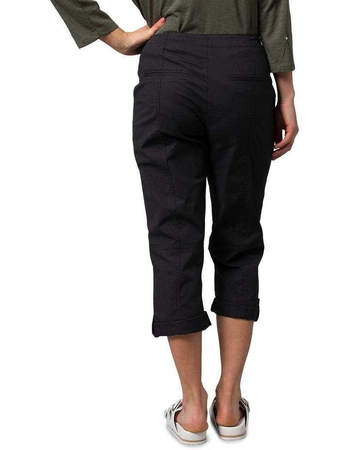 Utility Washer Cotton Pant Black image 2