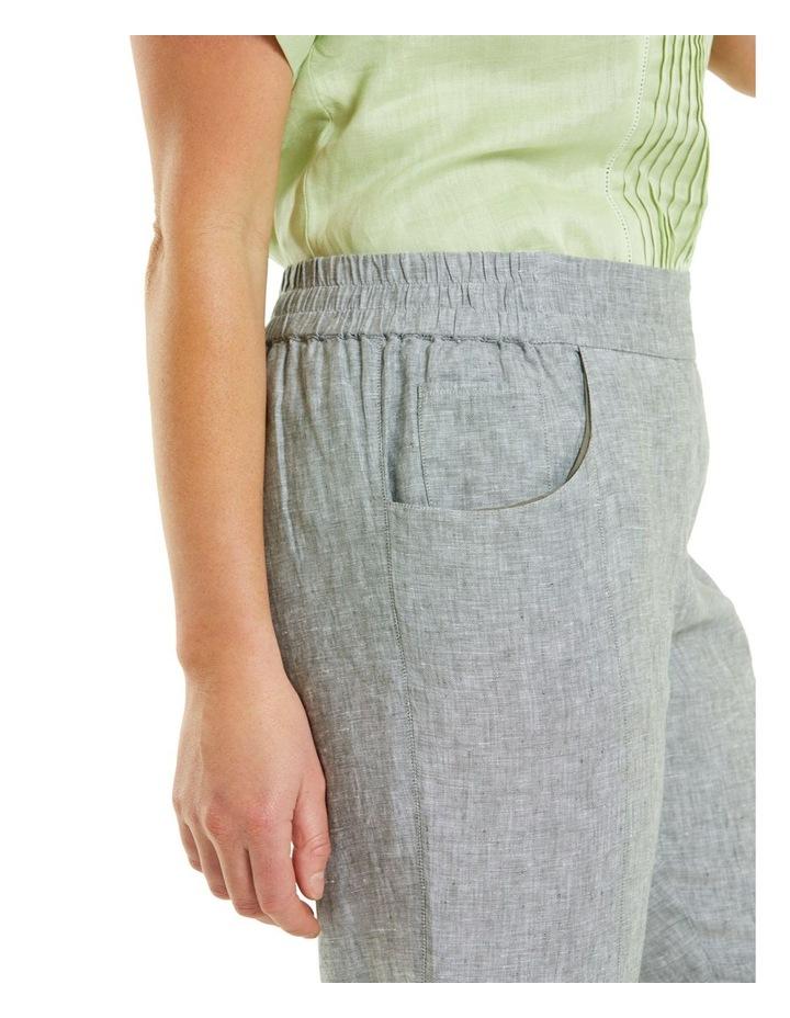 Cross Dye Panel Pant Khaki image 4