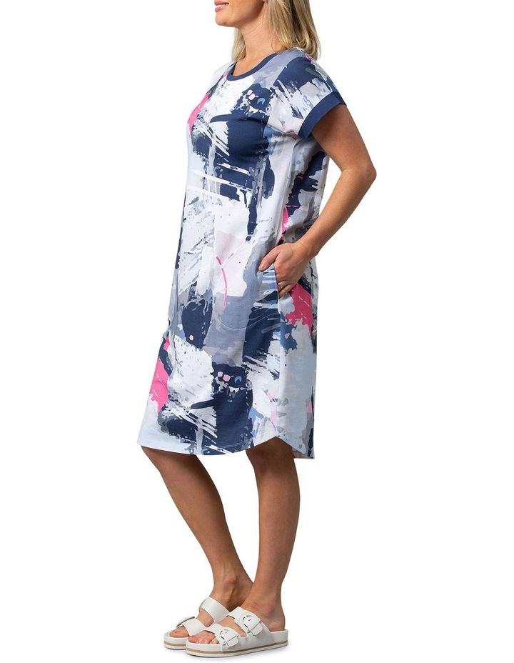 Escape Print Dress image 3