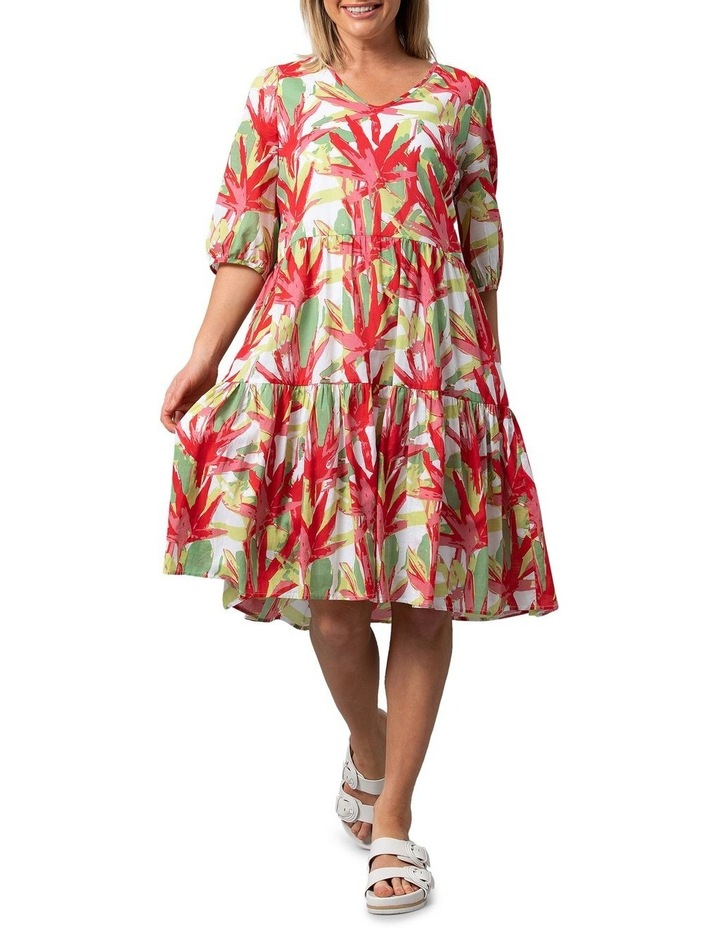 Fan Print Dress image 1