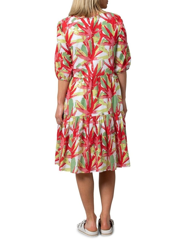 Fan Print Dress image 2