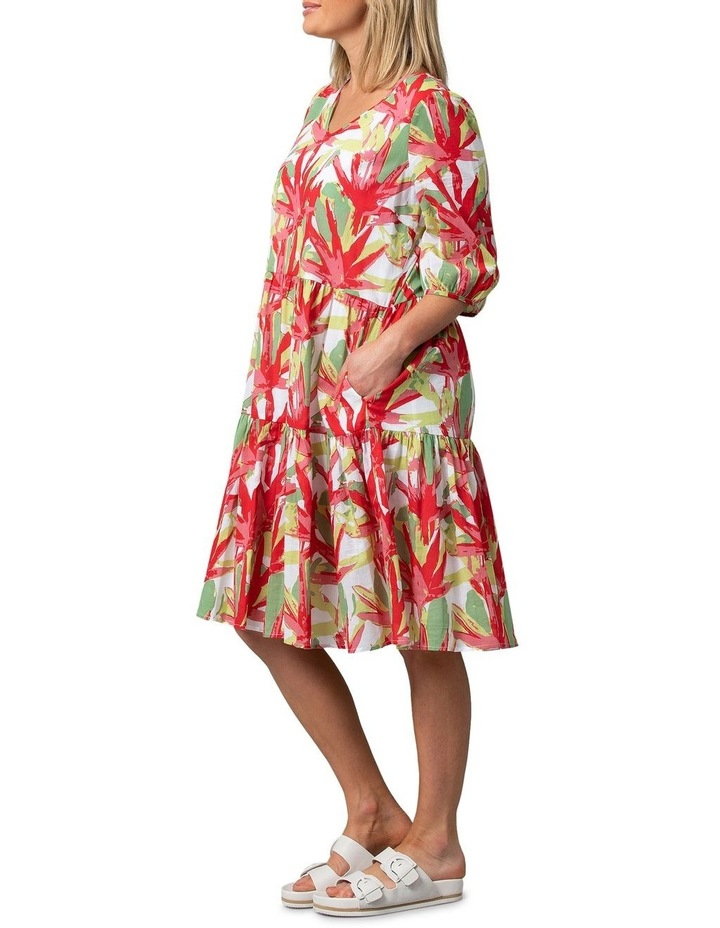 Fan Print Dress image 3