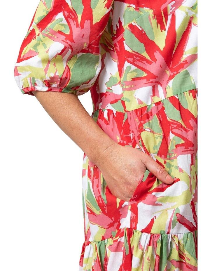 Fan Print Dress image 4