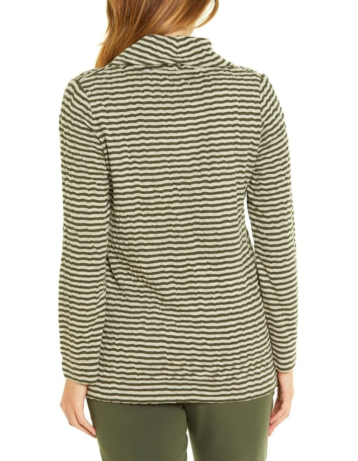 Soft Cowl Neck Long Sleeve Tee image 3