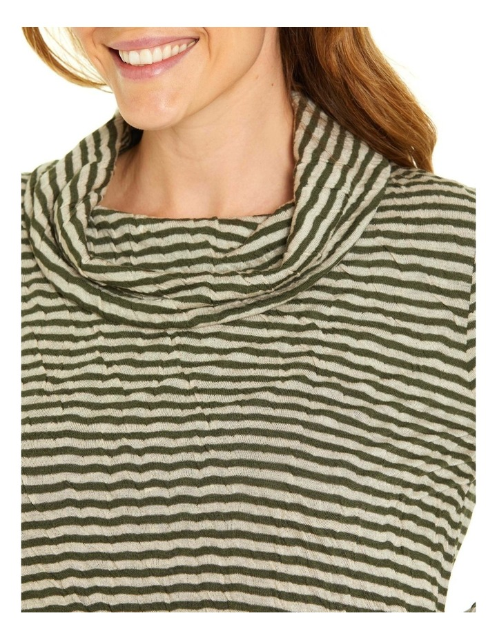 Soft Cowl Neck Long Sleeve Tee image 4