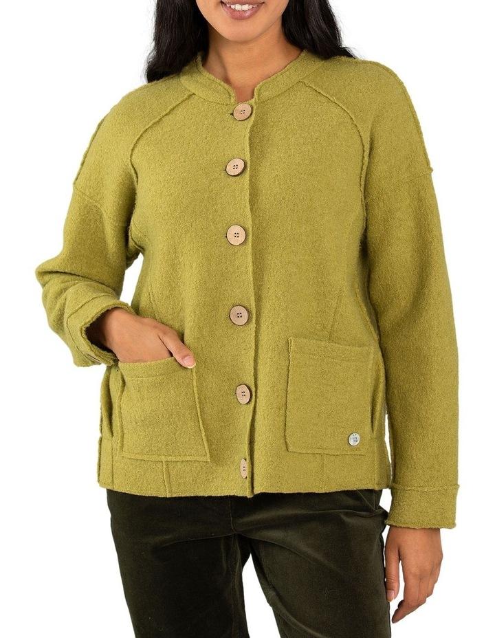 Cropped Wool Jacket image 1