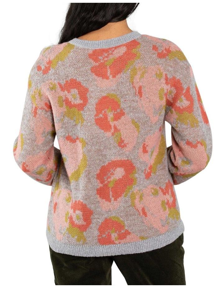 Floral Jacquard Cardigan image 3